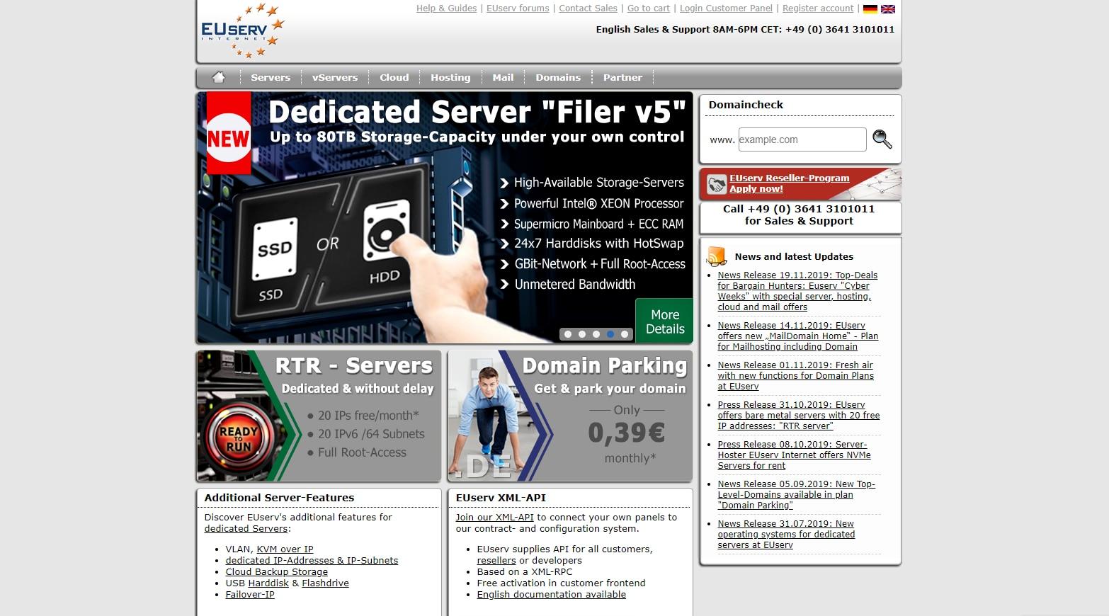 EUserv 德国永久免费VPS申请,仅有IPv6网络