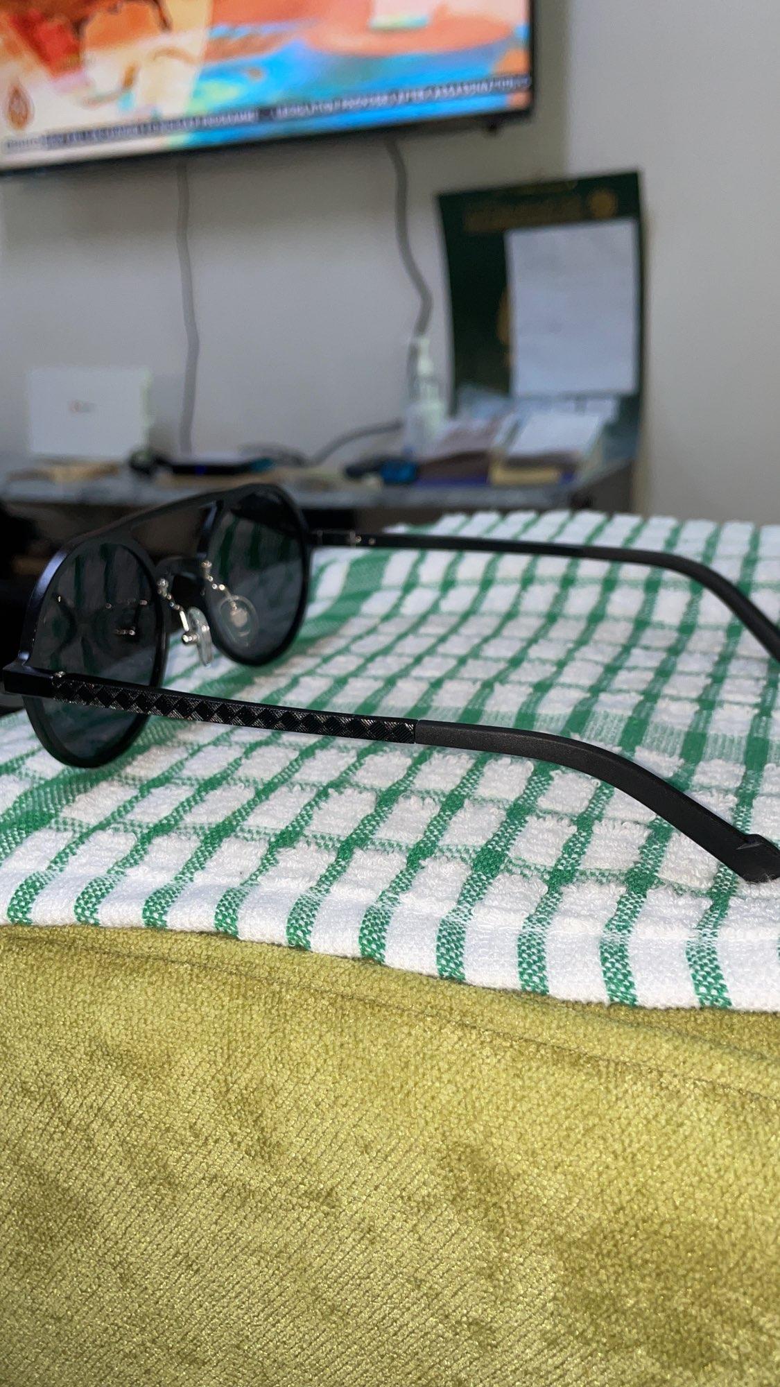 OLEY-lunettes de soleil polarisées rondes unisexe Anti-éblouissement