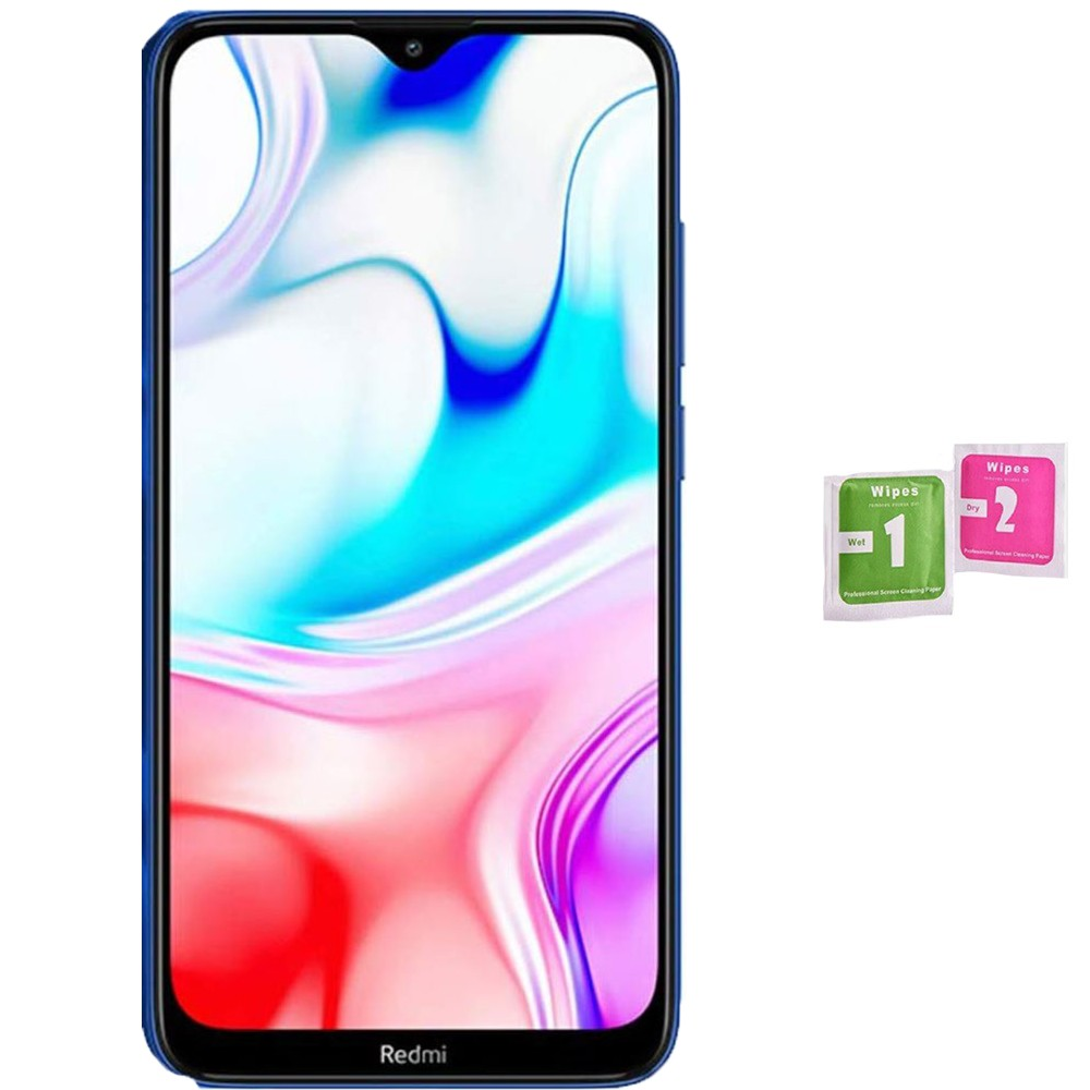 Protector Screen Tempered Glass For For XIAOMI REDMI 8 (Generico, Not Full SEE INFO) WIPES