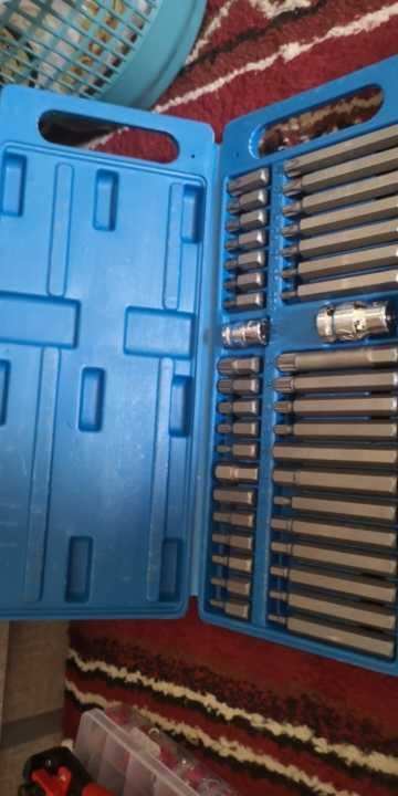 Где купить 40 шт. 1/2 ''3/8'' адаптер привода шестигранный хвостовик Torx XZN Spline Star Impact Socket Set Metric Socket Set Ratchet Driver Socket Wrench