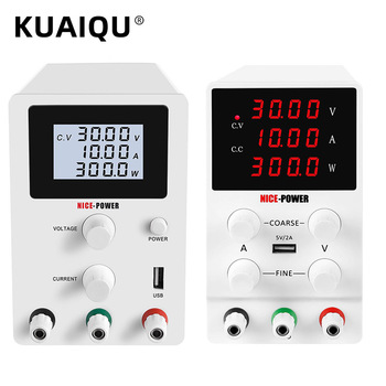 4 Digits USB Laboratory DC Power Supply 30V 5A 30V 10A Adjustable Source Bench Source Digital 60V 5A Switching Regulated Power image