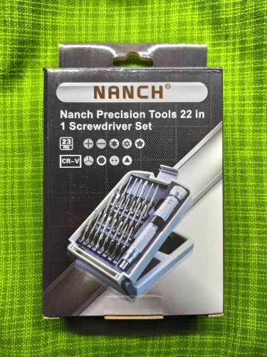 NANCH 22 in 1 Screwdriver Set Repair Tool Kit for Laptop PC Smartphone Electronics and Precision Devices|nanch 22|precision kit|nanch screwdriver - AliExpress