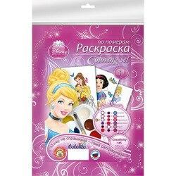 Set voor kinderen creativiteit Disney Prinses Kleuren door getallen