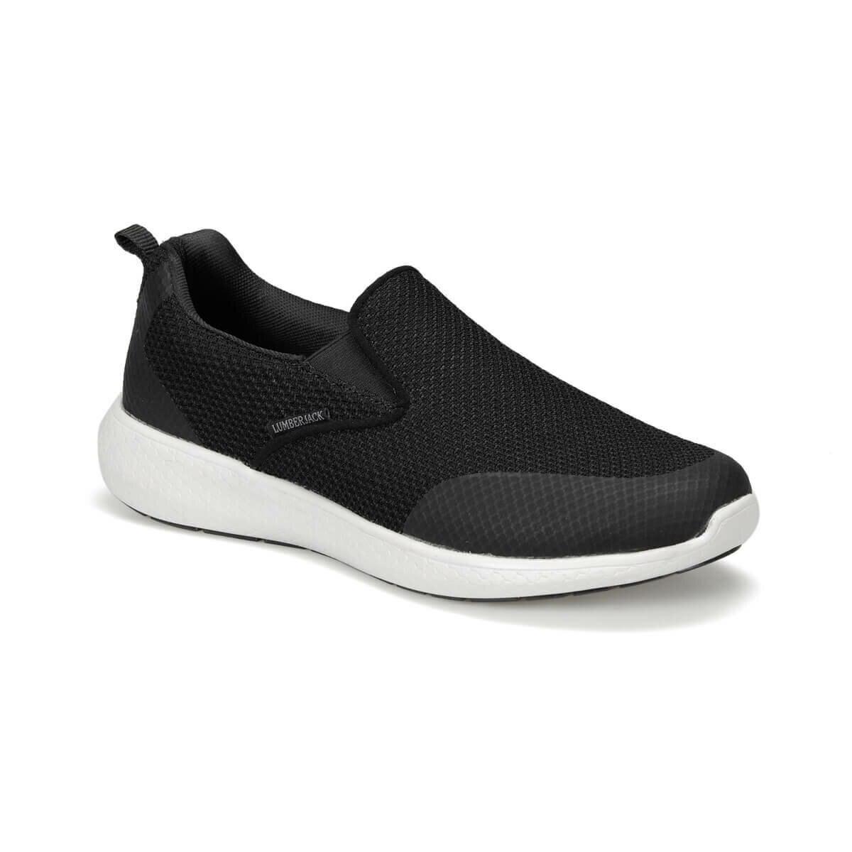 FLO JARED 9PR Black Slip On Shoes LUMBERJACK