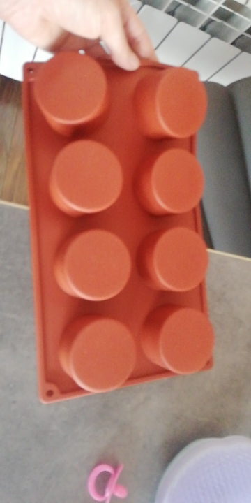 3D Round Holes Silicone Mold photo review
