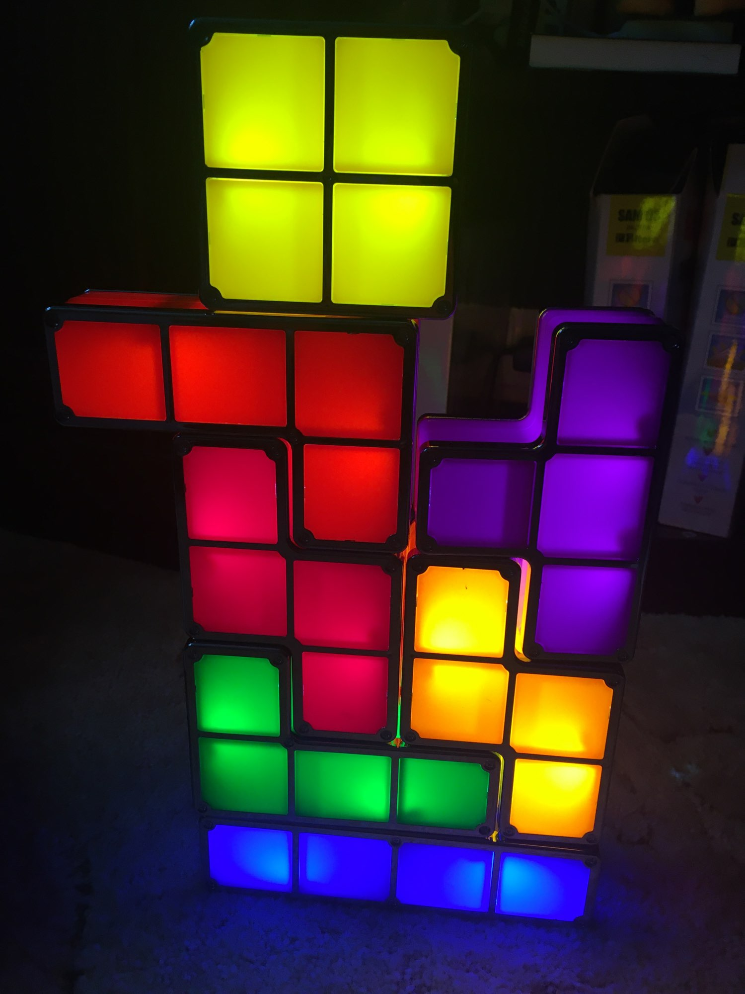 Tetris Game LED Lamp photo review