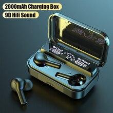 Ubeamer Wireless Bluetooth Earphone V5.0 Touch Control Headphones Gym Stereo HD