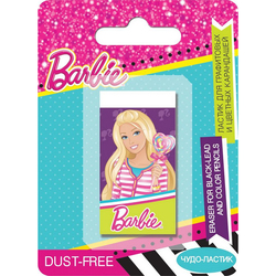 Borrador de Barbie para графитовых y lápices de colores