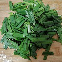 豆芽炒韭菜的做法图解2