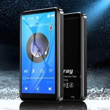 Reproductor MP3 con Bluetooth, música HiFi, altavoz incorporado, pantalla táctil, Reproductor de Audio, Radio FM, calculadora grabadora de vídeo