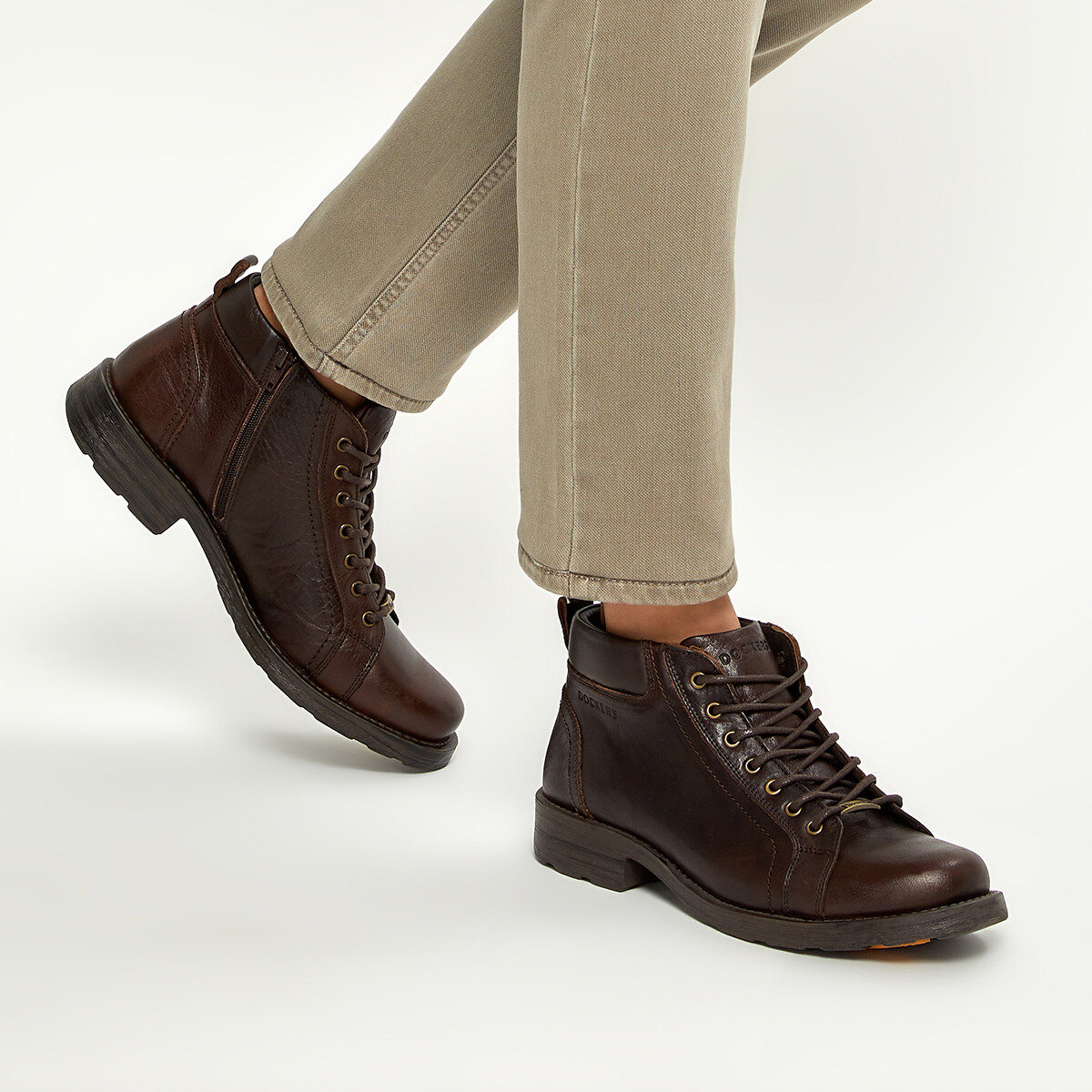 FLO 217161 Brown Men Boots By Dockers The Gerle