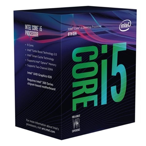 Processor Intel Core™ I5-8400 2,8 Ghz 9 MB LGA 1151 BOX