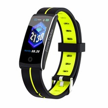 F10C Smart band Heart rate Monitoring Blood Pressure Step Counting Distance Calories fitness bracelet Waterproof Bluetooth 4.0
