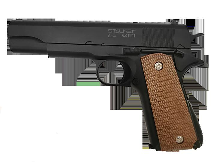 Пистолет страйкбольный Stalker SA1911 Spring (аналог Colt1911), к.6мм, мет.корпус, магазин 13шар|Пейнтбол| | АлиЭкспресс