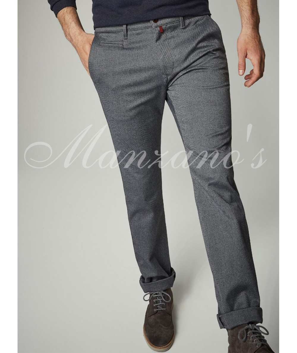 CHINO TROUSERS PIERRE CARDIN TANG GREY Long Pants For Men's Dressy Bodysuit Gray Color Menswear 2020