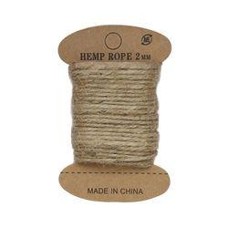 Cuerda de yute, 10 m (beige natural)
