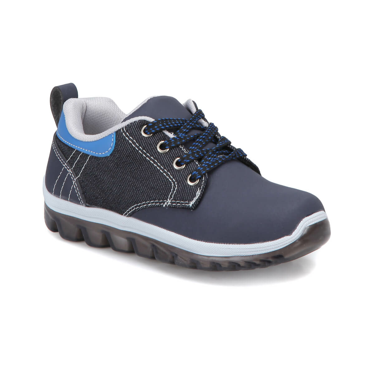 FLO IC120 Navy Blue Male Child Shoes I-Cool