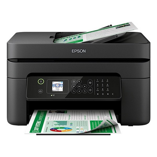 Multifunction Printer Epson WorkForce WF 2830DWF 33 ppm WiFi Fax Black|Printers| |  - title=