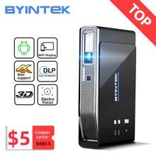 BYINTEK-miniproyector UFO R15 para cine en casa, dispositivo de proyección inteligente, LED, DLP, láser, Full HD, 1080P, 3D, 4K, Android, WIFI, 300 pulgadas