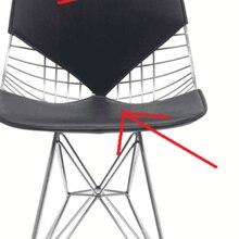 Только сменная Подушка Dkr бикини проволока стул подушка черный кожзам