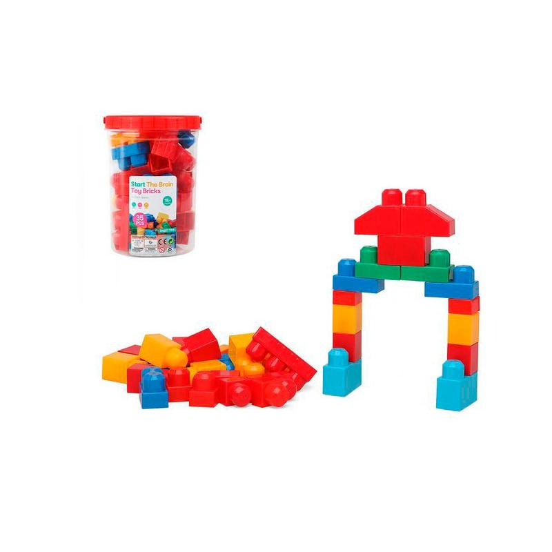 Juguete Piezas Construcción Juguete Bebé Juego Educativo Cubos Apilables