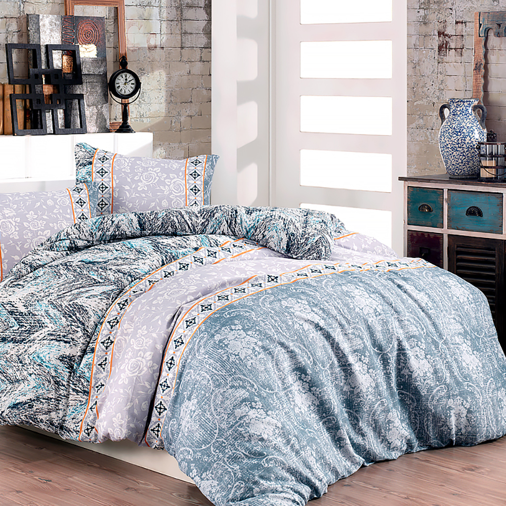 Lady Moda Izoly Luxury Bed Linen Cotton Set Ranforce Bedding Sets Twin/Full/Queen/King Size 3/4/5 Pcs Bed Sheet Duvet Cover Set