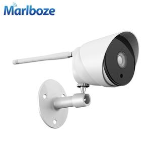 Image 5 - Marlboze 1080P wifi outdoor ip camera waterproof 2MP Bullet ip camera wireless tf card wifi CCTV home camera  APP control