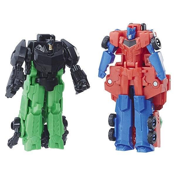 Transformadores transformadores choque combinador Grimlock y Optimus Prime
