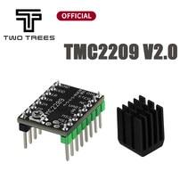 Motor paso a paso MKS TMC2209 V2.0 TMC2208, dispositivo ultra silencioso para Gen_L Robin Nano SKR V1.3 mini E3 para Ender 3