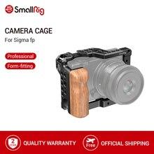 SmallRig Gabbia di Legno Con Impugnatura per SIGMA fp Gabbia Fotocamera Con Fredda Shoe Mount Riprese Video Cage Kit   2518