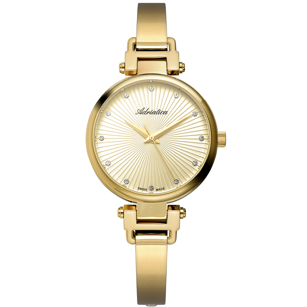 Women's Watch A3807.1141q On A Steel Bracelet With PVD Coated Mineral Glass SUNLIGHT