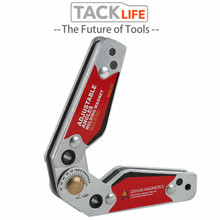 TACKLIFE Adjustable Magnetic Neodymium Welding Positioner Locator Tools With Wrench Welding Fixed Fixture Welding Magnet Holder
