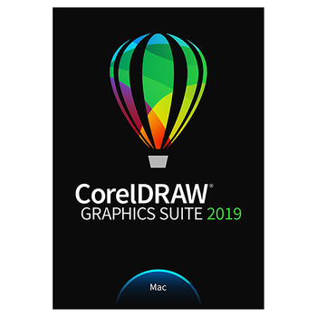 Corel CorelDRAW Graphics suite 2019 for macOS esdcdgs2019mrow