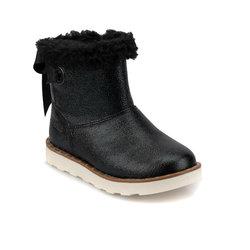FLO 92,511806. P черные женские детские ботинки Polaris