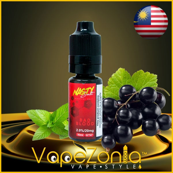Nasty Salt BAD BLOOD 10 Ml Vape Shop Valencia