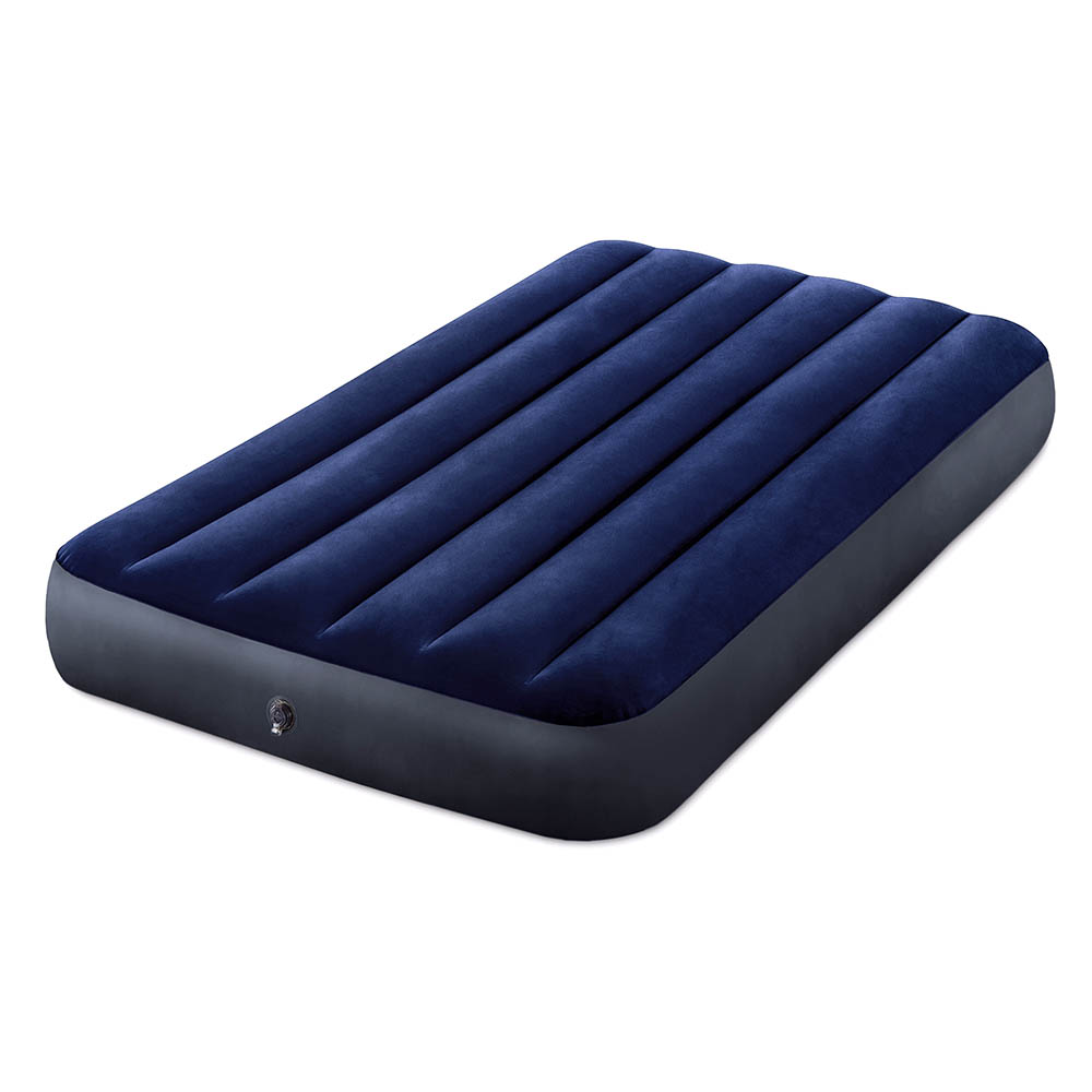 Intex Bed Inflatable Classic Downy (Fiber Tech) Twin, 99 Cm X 1,91 M X 25 Cm