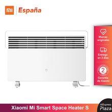 Versión Original Xiaomi Mi Smart Space Heater S 28 ° C Versión de termostato Calentador eléctrico Ventilador de calefacción Calentador de aire para el hogar
