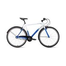 Велосипед 28' Forward Rockford 28 Белый/Синий 18-19 г, 54 см RBKW9Y683004
