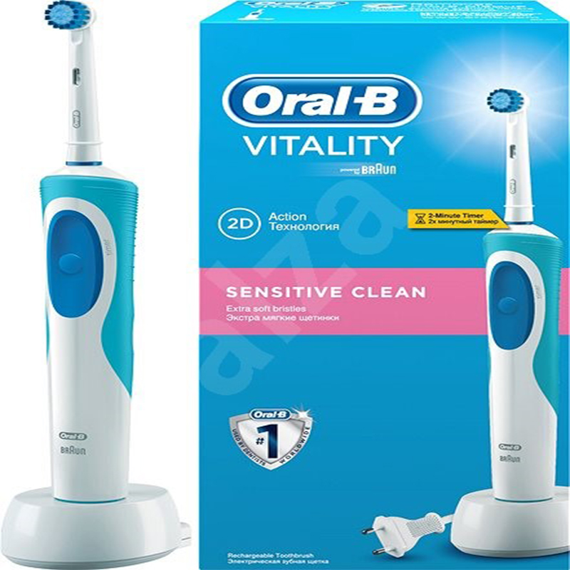 Toothbrush Electric rechargeable Oral-B Vitality, Braun image