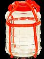 Стеклянная банка с гидрозатвором для брожения домашних алкогольных напитков брага... вино... пиво