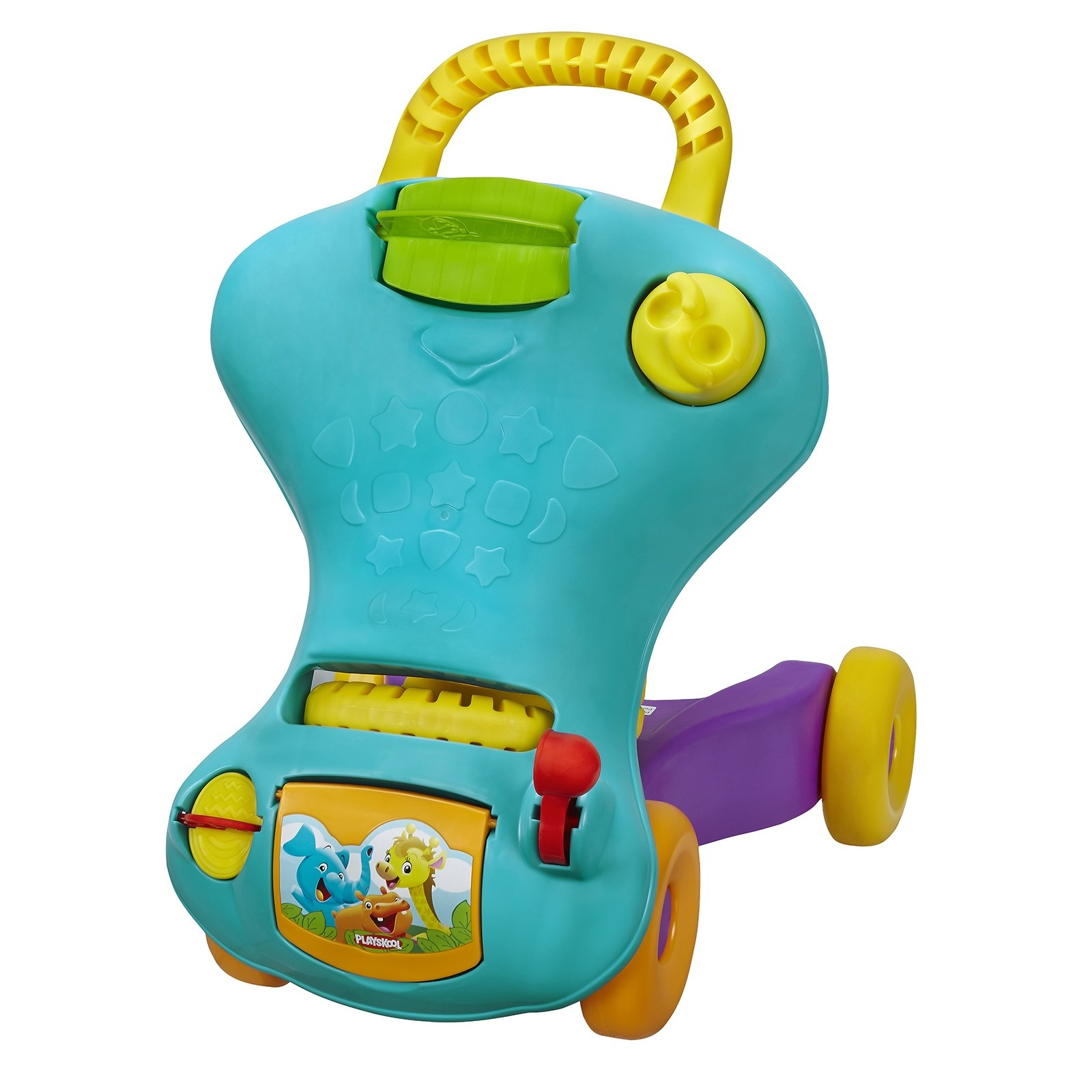 ebebek Playskool My First Car Talakar Walker For Baby Walker Musical Wheelchair Walker Baby Walker With Wheel