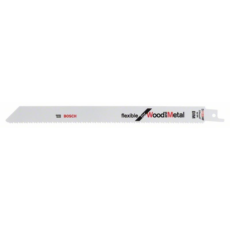 BOSCH-saw Blade Sable S 1122 HF Bendable For Wood & Metal