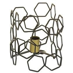 Lampa biurkowa aluminiowa (19X19x24 cm) w Wiszące lampki od Lampy i oświetlenie na