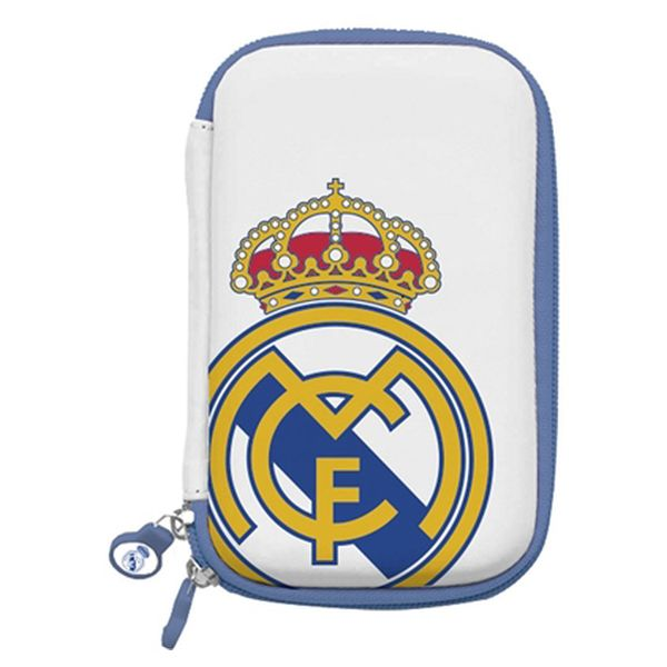 Hard Drive Case Real Madrid C.F. RMDDP001 3,5