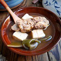 脊骨海带豆腐汤,简单易做暖胃清爽还减脂的做法图解10