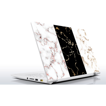 Sticker Master Black Gray Marble Universal Sticker Laptop Vinyl Sticker Skin Cover For 10 12 13 14 15.4 15.6 16 17 19 Inc Notebook decal for Macbook,asus,Acer,Hp,Lenovo,Huawei,Dell,Msi,Apple,Toshiba,Compaq pag unique decorative sticker for apple macbook laptop black