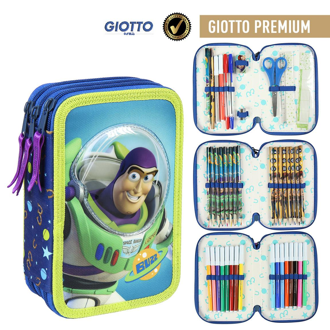 Plumier Threefold Giotto Premium OFFICIALLY LICENSED ORIGINAL Material Approved EU