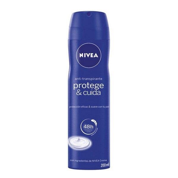 Spray Deodorant Protege & Cuida Nivea (200 Ml)