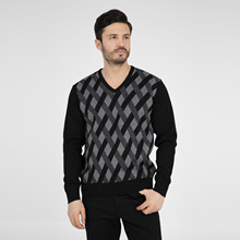 Buratti V-Neck Sweater MALE SWEATER 447063