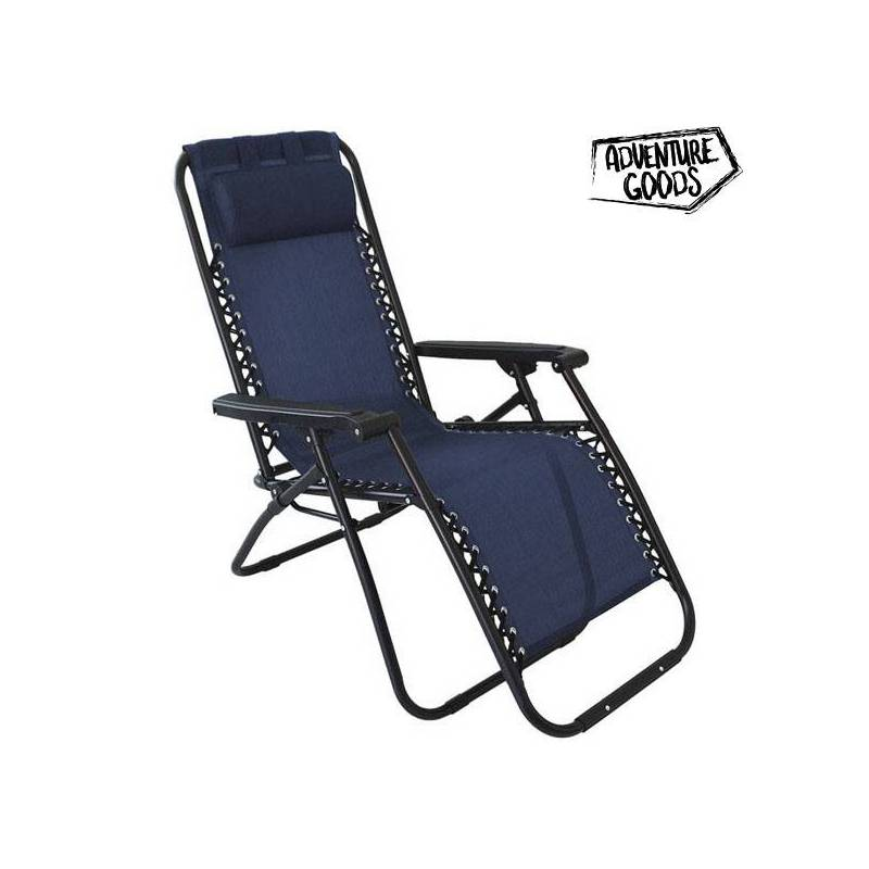 Lounger Adventure Goods 45838 (110x73x67 Cm) Blue